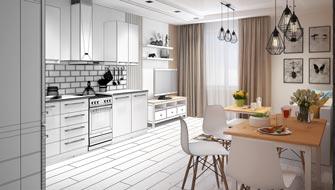Профессиональная визуализция интерьров квартиры дома