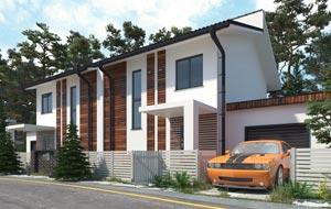 Профессиональная визуализция экстерьеров дома дачи коттеджа здания